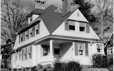 Richard Sharp Smith & Dr. Jules Ernest David: The J. E. David Cottages on East Chestnut Street