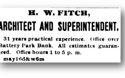 """""""H. W. Fitch"""" The Alias Architect and Builder of Buncombe County"""